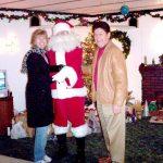 Barbara, Santa and Don Visit