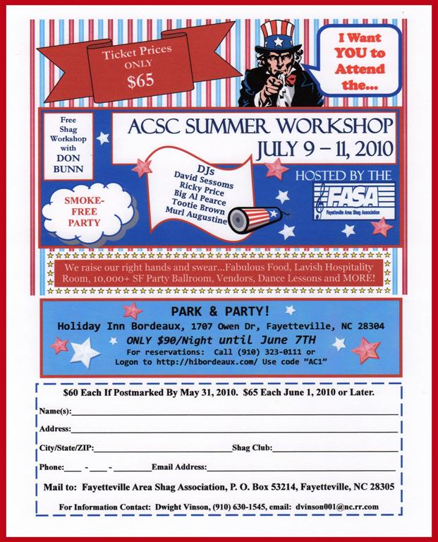 FASA  ACSC Summer Workshop